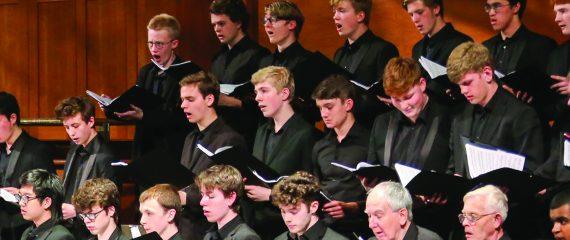 Chetham's Choir performing