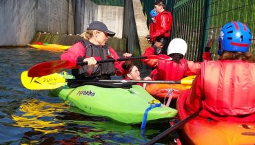 Chetham's goes kayaking
