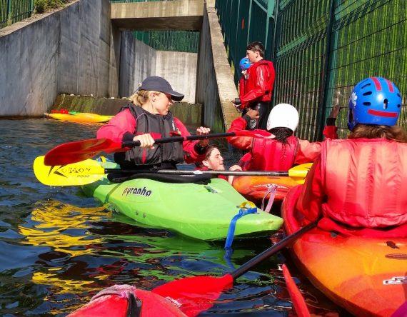 Chetham's goes kayaking