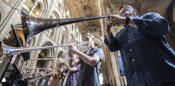 Superb reviews for Gabrieli Roar with Chetham's Brass | Chetham's