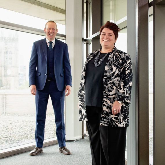 Joint Principals, Tom Redmond and Nicola Smith